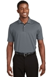 Dri-mesh Polo Shirt With Tipped Collar And Piping Steel with Black Thumbnail