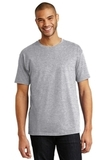 Tagless 100 Comfortsoft Cotton T-shirt Light Steel Thumbnail