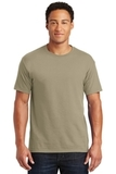 50/50 Cotton / Poly T-shirt Khaki Thumbnail