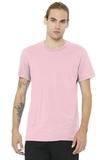 BELLACANVAS Unisex Jersey Short Sleeve Tee Pink Thumbnail