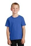Youth 5.5-oz 100 Cotton T-shirt Royal Thumbnail