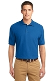 Tall Sized Silk Touch Polo Shirt Strong Blue Thumbnail