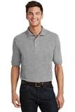Pique Knit Polo Shirt With Pocket Oxford Thumbnail