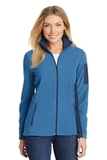 Women's Summit Fleece FullZip Jacket Regal Blue with Dress Blue Navy Thumbnail