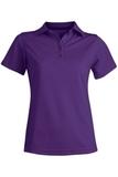 Women's Dry-mesh Hi-performance Polo Purple Thumbnail