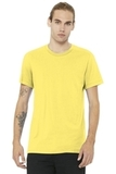 BELLACANVAS Unisex Jersey Short Sleeve Tee Yellow Thumbnail