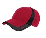 Nike Golf Technical Colorblock Cap Varsity Red with Black Thumbnail