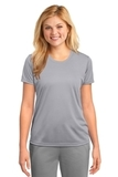 Women's Essential Performance Tee Silver Thumbnail