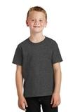 Youth 5.5-oz 100 Cotton T-shirt Dark Heather Grey Thumbnail