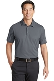 Nike Golf Dri-FIT Solid Icon Pique Modern Fit Polo Dark Grey Thumbnail