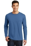 Long Sleeve Perfect Weight District Tee Maritime Blue Thumbnail