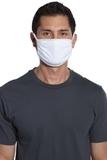 Cotton Knit Face Mask (5 Pack) White Thumbnail