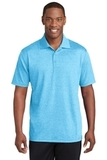 Sport-Tek PosiCharge RacerMesh Polo Pond Blue Heather Thumbnail