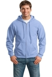 Full-zip Hooded Sweatshirt Carolina Blue Thumbnail