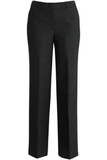 Redwood & Ross Signature Women's Wool Blend Flat Front Dress Pant Charcoal Thumbnail