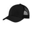 Yupoong Retro Trucker Cap Black with Black Thumbnail