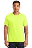 50/50 Cotton / Poly T-shirt Safety Green Thumbnail