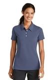 Women's Nike Golf Shirt Nike Sphere Dry Diamond Diffused Blue Thumbnail