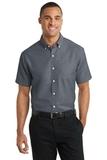 Short Sleeve Superpro Oxford Shirt Black Thumbnail