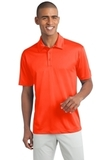 Legendary Sateen Moisture Wicking Polo Neon Orange Thumbnail
