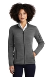Women's Eddie Bauer Sweater Fleece Full-Zip Dark Grey Heather Thumbnail