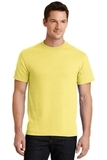50/50 Cotton / Poly T-shirt Yellow Thumbnail