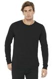 BELLACANVAS Unisex Jersey Long Sleeve Tee Black Thumbnail