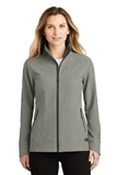 Women's The North Face Tech Stretch Soft Shell Jacket TNF Medium Grey Heather Thumbnail