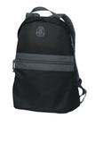 Nailhead Backpack Nearly Black with Smoke Grey Thumbnail