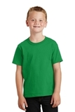 Youth 5.5-oz 100 Cotton T-shirt Clover Green Thumbnail
