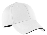 Nike Golf Dri-fit Mesh Swoosh Flex Sandwich Cap White Thumbnail