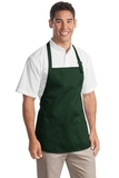 Medium Length Apron With Pouch Pockets Hunter Thumbnail