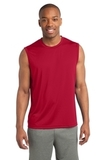 Sleeveless Competitor Tee True Red Thumbnail