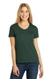 Women's V-neck T-shirt Deep Forest Thumbnail