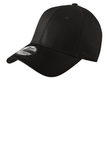 New Era Structured Fitted Cotton Cap Black Thumbnail