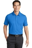 Nike Golf Dri-FIT Solid Icon Pique Modern Fit Polo Light Photo Blue Thumbnail