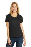 Women's V-neck T-shirt Black Thumbnail