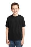 Youth 50/50 Cotton / Poly T-shirt Black Thumbnail