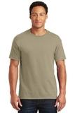 50/50 Cotton / Poly T-shirt Khaki Thumbnail