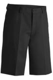 Poly / Cotton Twill Men's Shorts Black Thumbnail