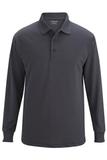 Edwards Unisex Snag Proof Long Sleeve Polo Steel Grey Thumbnail