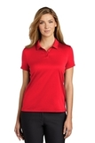 Women's Nike Golf Dry Essential Solid Polo University Red Thumbnail
