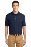 Extended Size Silk Touch Polo Shirt Navy Thumbnail