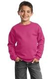 Youth Crewneck Sweatshirt Sangria Thumbnail