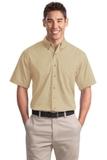 Short Sleeve Twill Shirt Stone Thumbnail