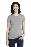 Women's Fine Jersey T-Shirt Heather Grey Thumbnail
