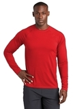 Long Sleeve Rashguard Tee True Red Thumbnail
