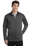 Nike Golf Therma-FIT Full-Zip Fleece Anthracite Thumbnail