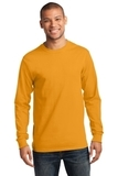 Essential Long Sleeve T-shirt Gold Thumbnail