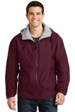 Team Jacket Maroon with Light Oxford Thumbnail